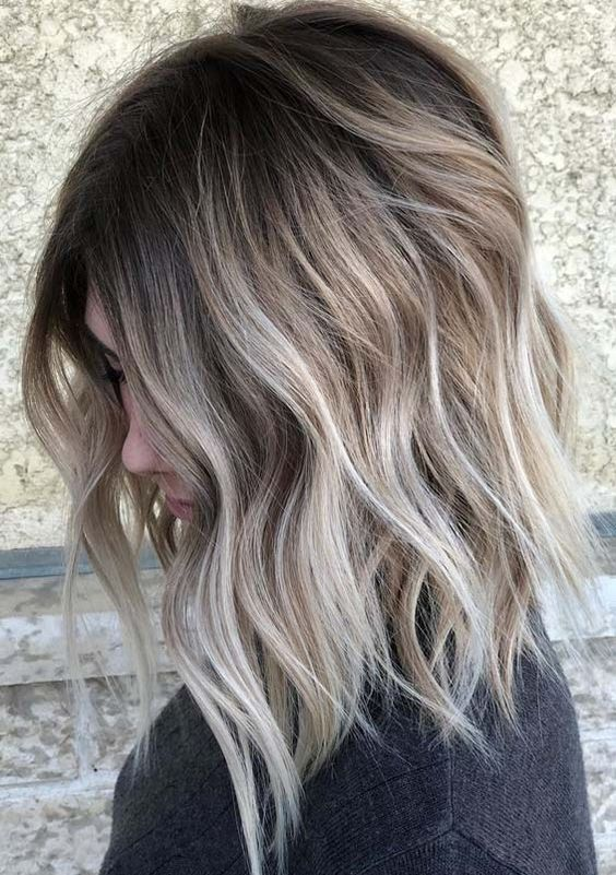 Adorable Sombre Hair Color Trends for Women 2019