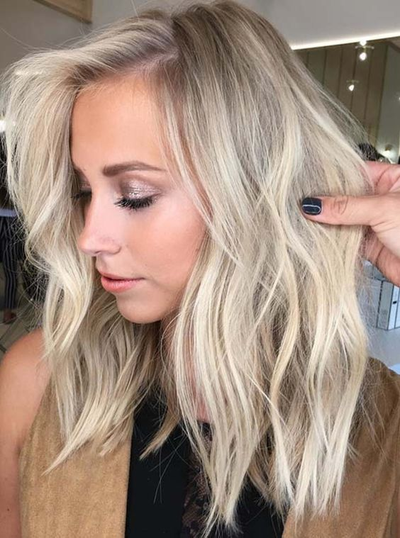Beautiful Balayage Lob Styles for Women