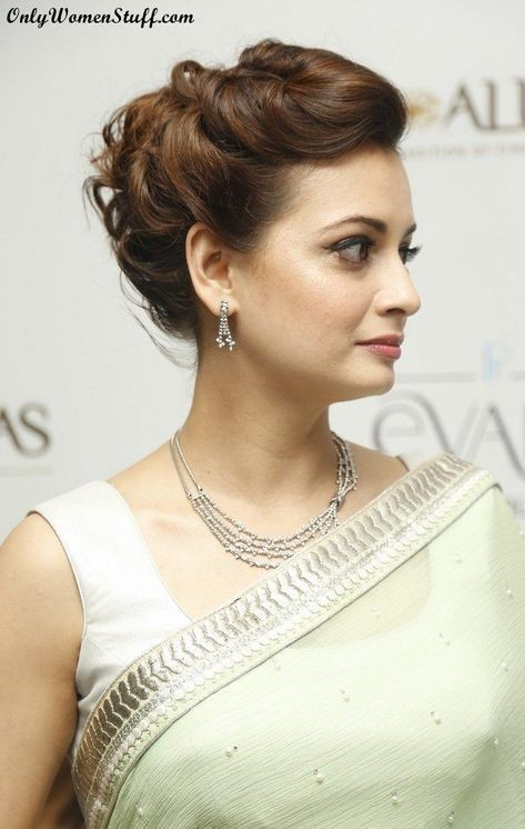 Beautiful Hairstyle for Saree Indian Traditional Hairstyles