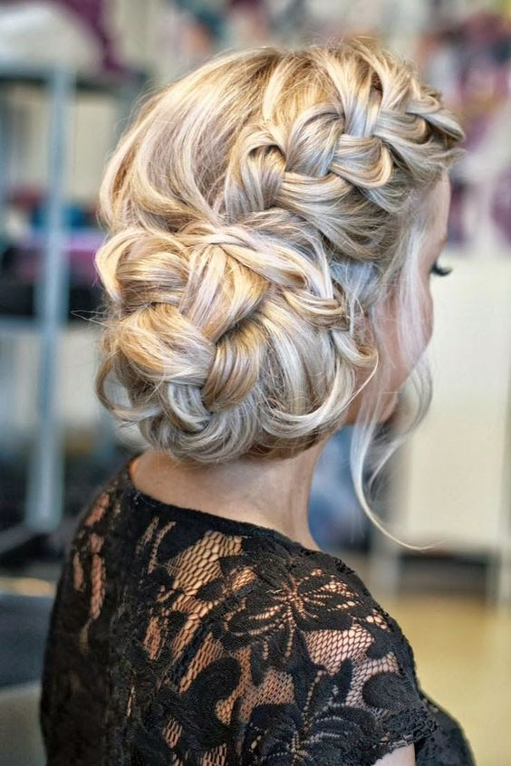 Beautiful Long Hair Styles For Weddings And Proms