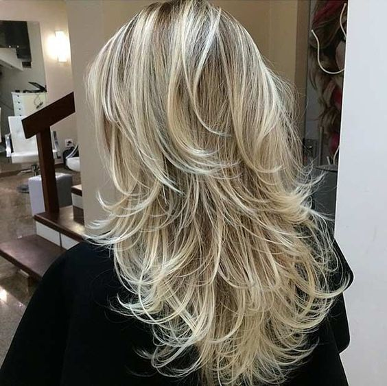 Beautiful Long Layered Haircut
