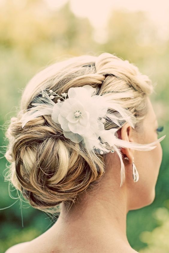 Beautiful Updo Hairstyles for Weddings Classic Bride Hair Styles 2019