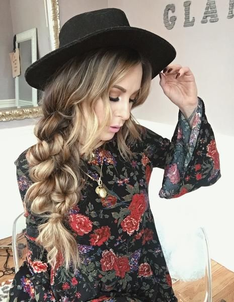 Boho Hairstyles Boho Twist Braid