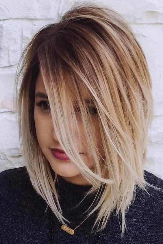 Chic Medium Length Layered Haircuts