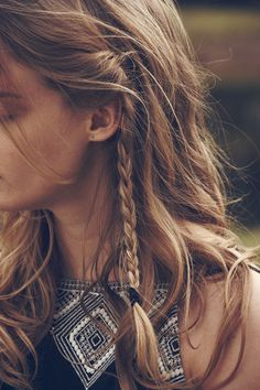 Cool Boho Hairstyles with Braids