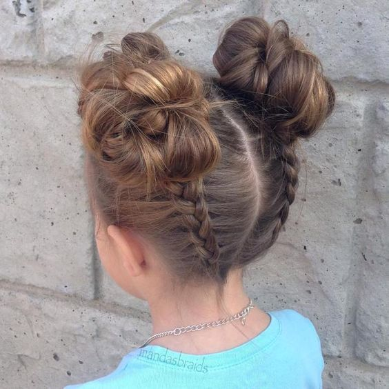 Cool Hairstyles for Little Girls on Any Occasion 2