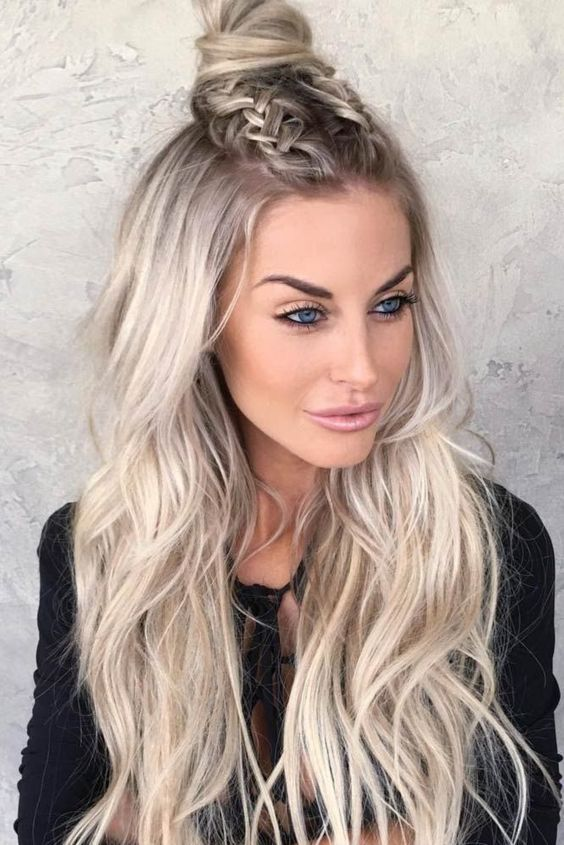Cute Straight Hairstyles for Long Hair