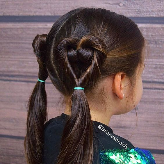 Diy girls hairstyles of christmas ideas