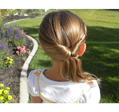 Easy school hairstyles for girls