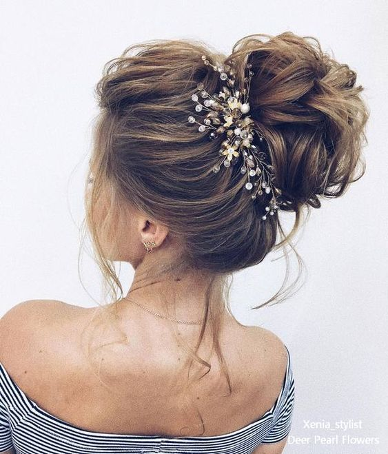 Elegant Wedding Hairstyles and Updos from xenia_stylist