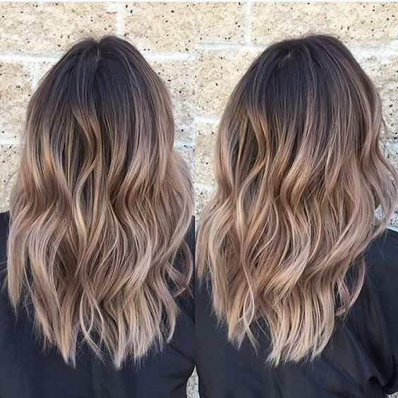 Everyday Hairstyle for Shoulder Length Hair 2018