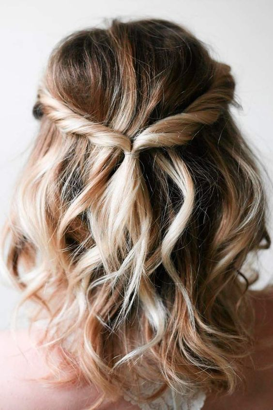 Five-Minute Gorgeous and Easy Hairstyles