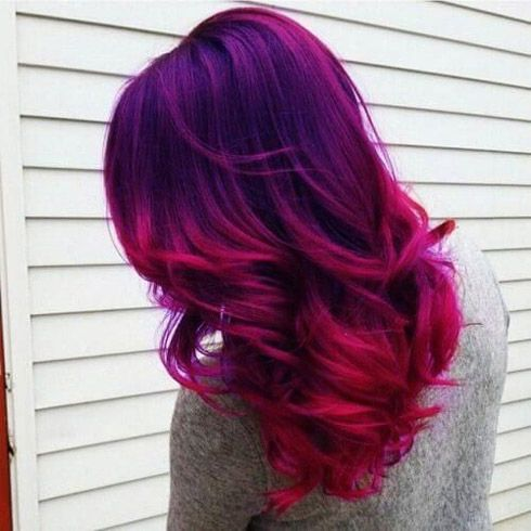 Gorgeous Blue And Red Hair Color Ideas