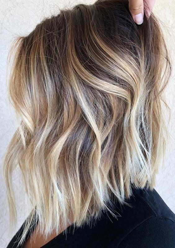 Gorgeous Cream Blonde Balayage Hair Color Ideas for 2018