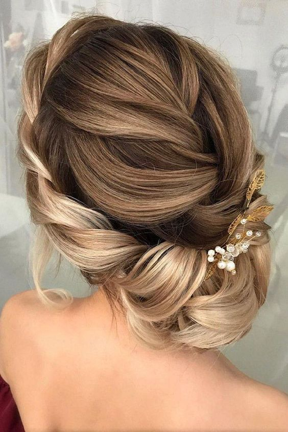 Best Hairstyles 2019 Bun Updo Hairstyle Designs For Women