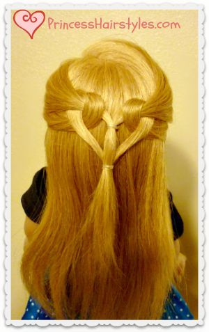 Heart Knot Hairstyle