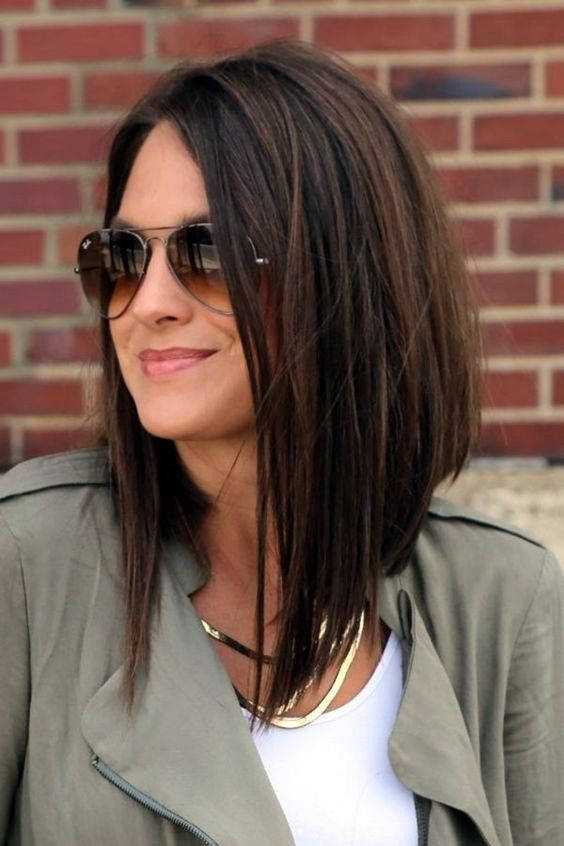 Latest Long Bob Haircuts For Women In 2018