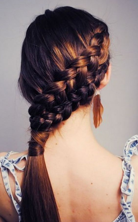 Long School Hairstyles 2019 for Girls