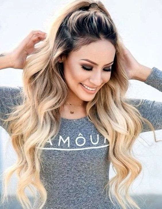 Long Thick Hairstyle For Women