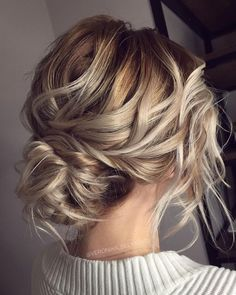 Messy Wedding Hair Updos For A Gorgeous Rustic Country Wedding To Chic Urban Wedding