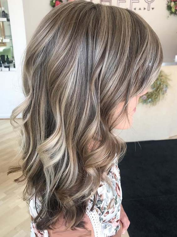 Modern Beige Bronde Highlights & Hair Color Ideas in 2018