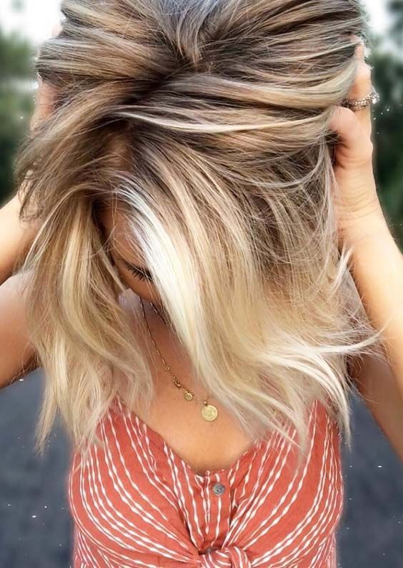 Modern Shades Of Blonde Balayage Hair Colors in 2019