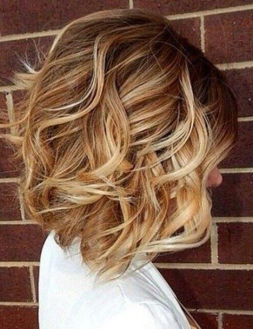 More Chic Wavy Bob Haircuts 2019