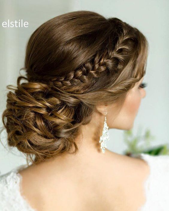 Most Beautiful Low Updos for Quinceaneras