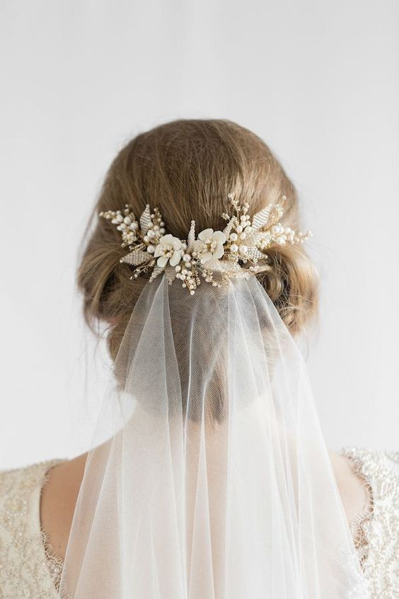 Most-Pinned Beautiful Bridal Updos Hairstyle