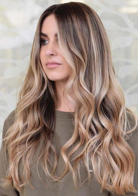 Natural Balayage Highlights for Women 2019
