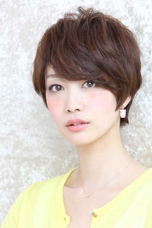 New Trends in Short Asian Hairstyles