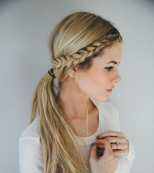 Perfect hairstyle for girls