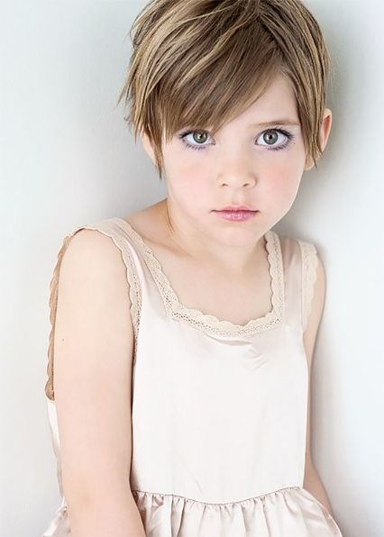 Pixie Cuts for Kids-Short Hairstyles for Little Girls