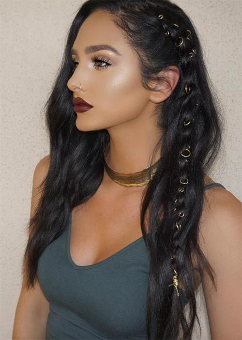Pretty Holiday Hairstyles Ideas