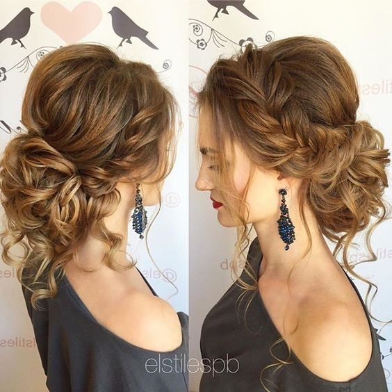 Pretty Messy Updos for Long Hair