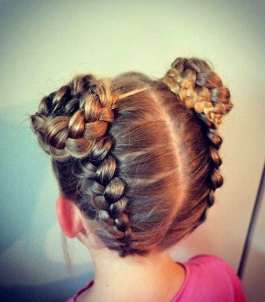 Sassy hairstyles for little girls