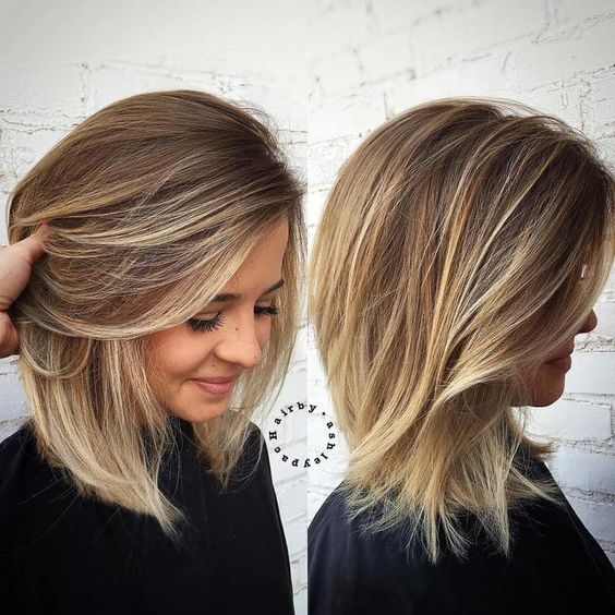 Sensational Medium Length Haircuts for Thick Hair 2018