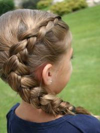 Style Little Girls' Hair - Cute Long Hairstyles for School