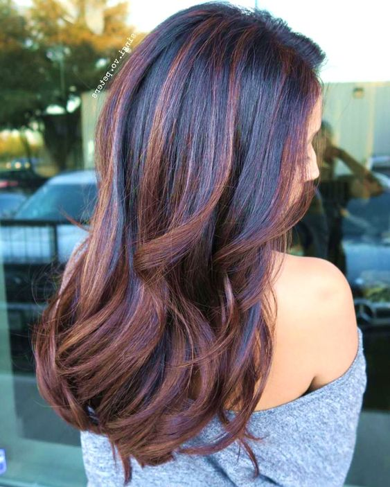 Subtle Hair Color Ideas for Brunettes