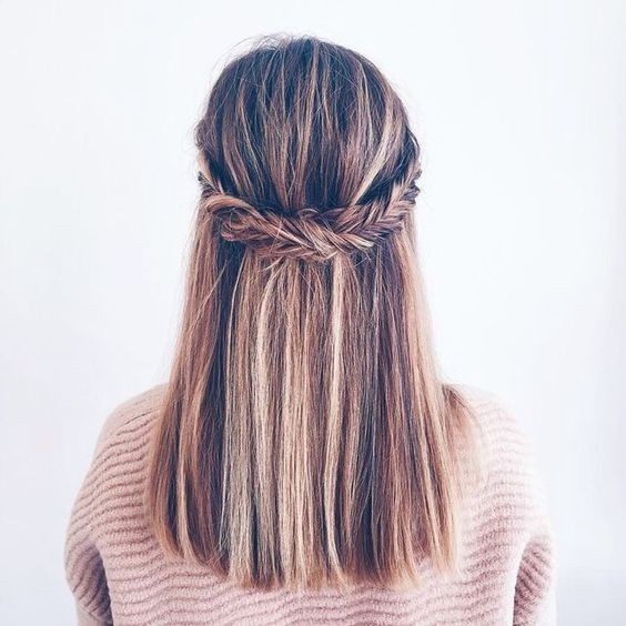 Super Trendy Easy Hairstyles for School