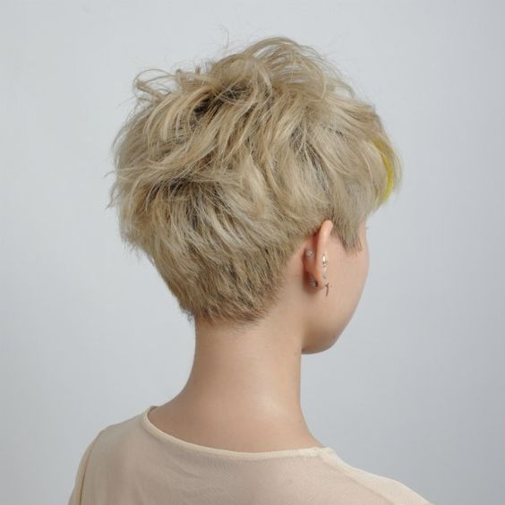 asian boyish pixie cut