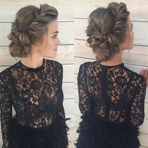 Beautiful Updos That Score Maximum Style Point
