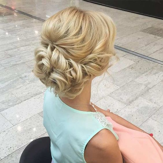 elegant and stylish hair updos