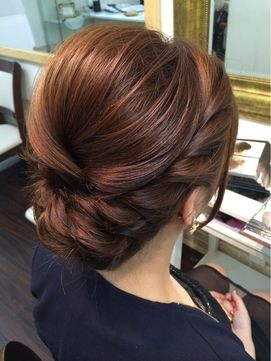 updo that would be perfect for bridal hair theme