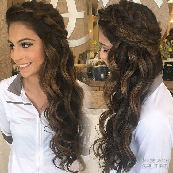 wedding hairstyles half up half down best photos