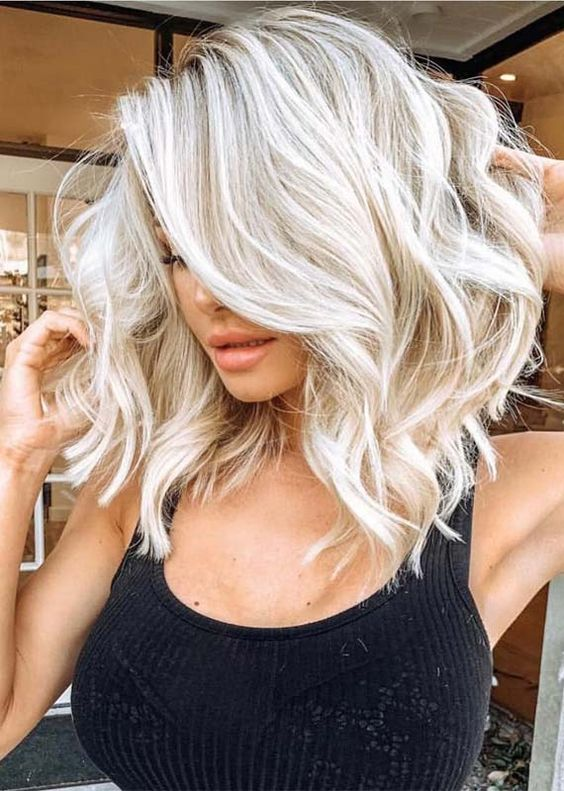 Awesome Blond Hair Colors for Medium Length Hair in 2019