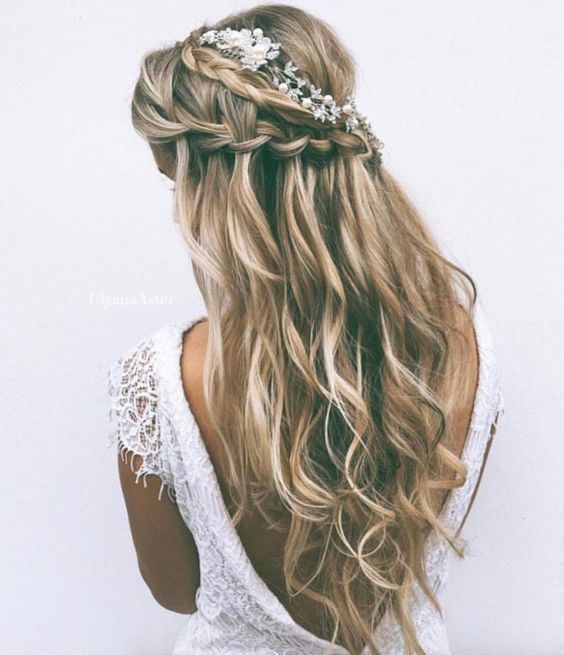 Beautiful Bridal Mermaid Hair Ideas