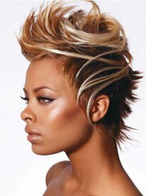 Black Celebrity Short Haircuts