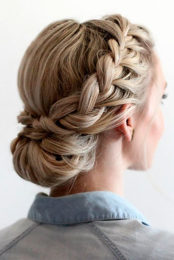 Braided Prom Hair Updos