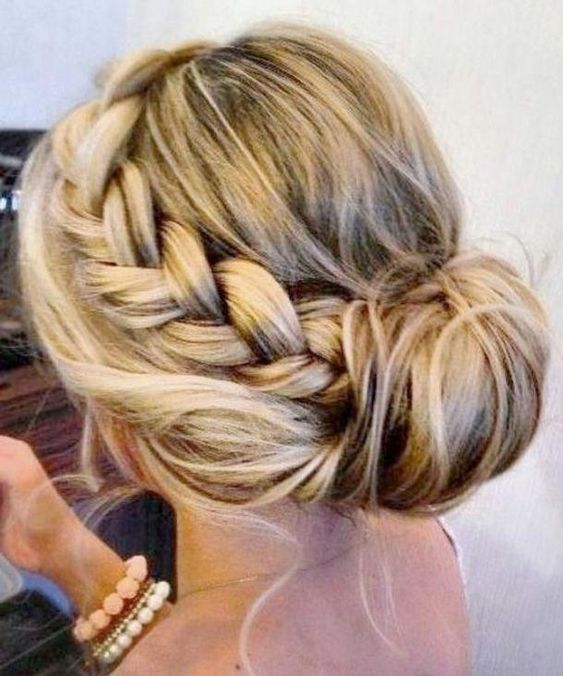 Braided Updos For Medium and Long Hair